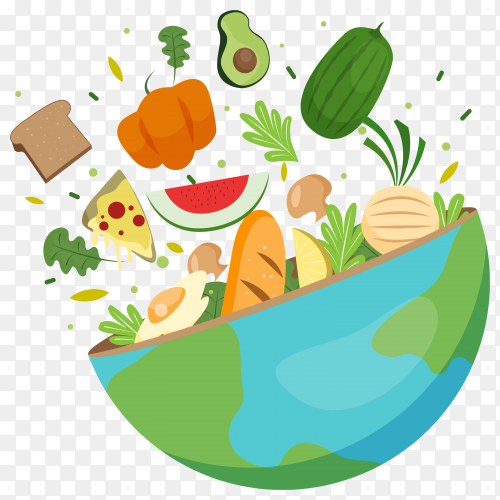 tasty and fresh food clipart PNG