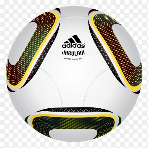 2010 FIFA World Cup South Africa Official Ball Premium vector PNG