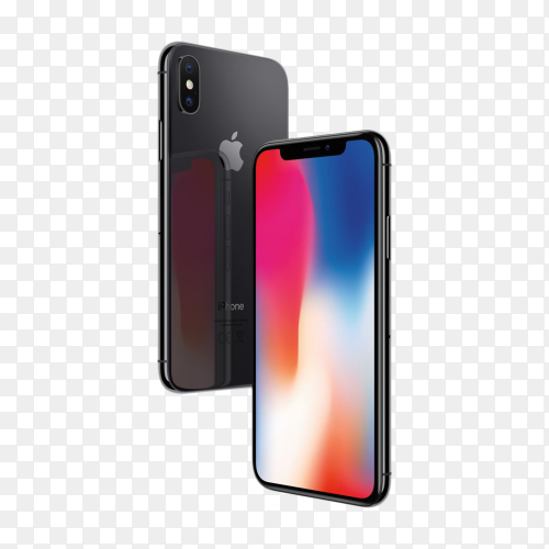 Apple IPhone 8 Plus on transparent background PNG