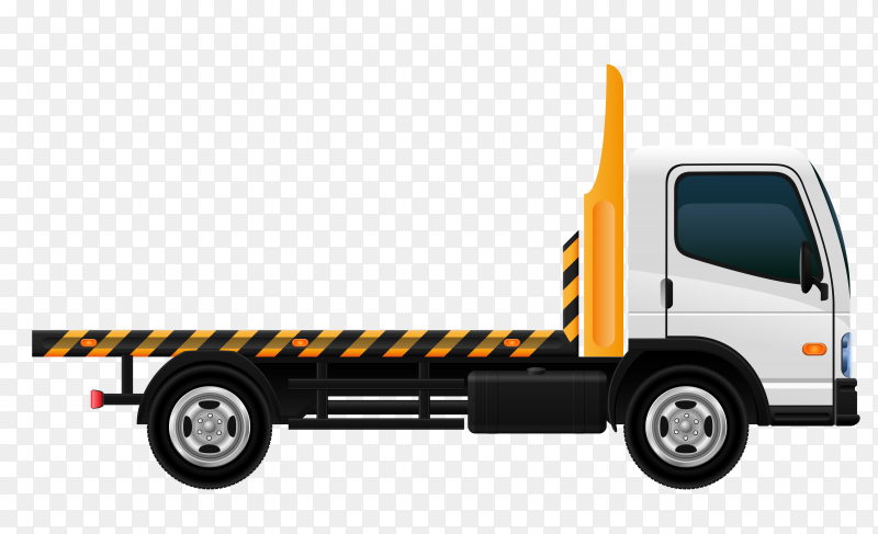 Car towing truck and road side assistance service Premium Vector PNG