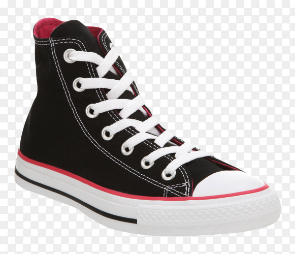 Converse sneakers  Premium on transparent PNG