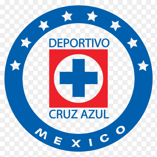 Deportivo veracruz club logo on transparent background PNG