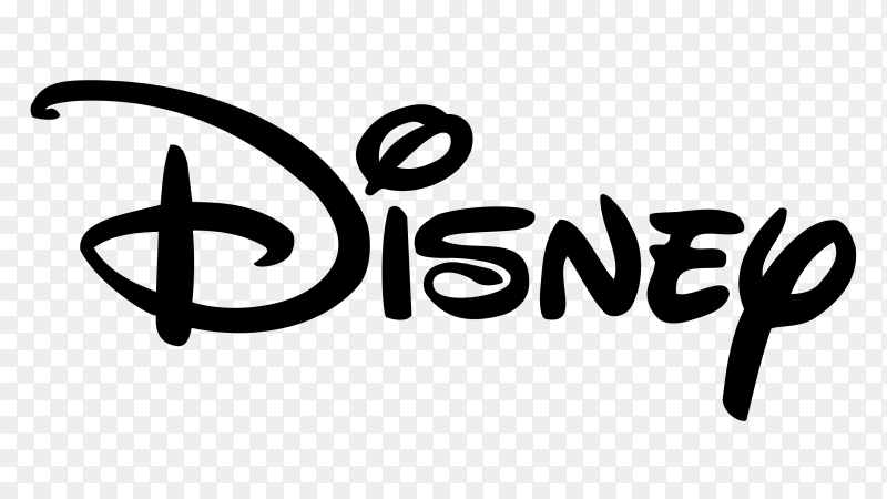 Disney logo on transparent background PNG