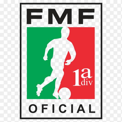 FMF Logo design Premium vector PNG