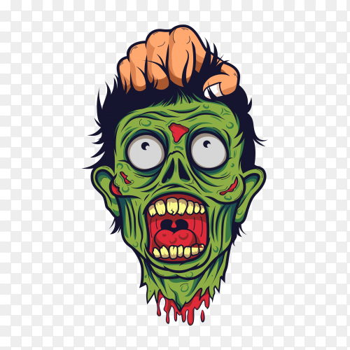 Cartoon Zombie Head On Transparent Background Png Similar Png Zombie hand png cliparts, all these png images has no background, free & unlimited downloads. cartoon zombie head on transparent