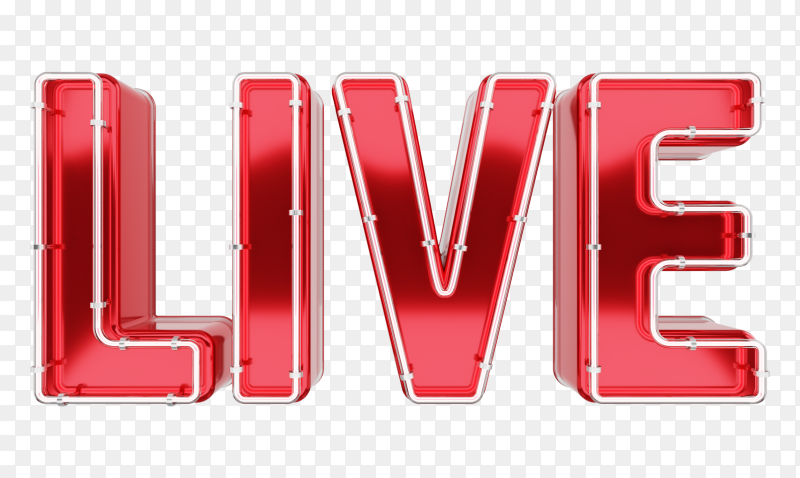 Live lettering Style on transparent background PNG