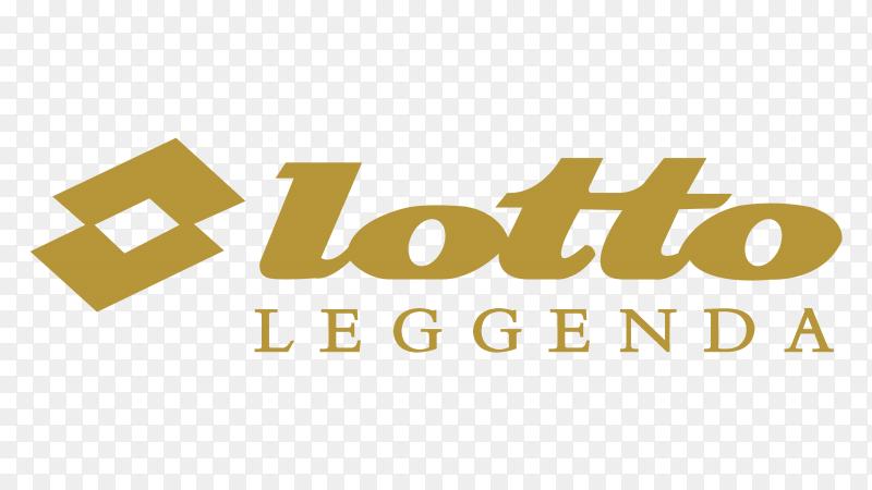Logo Lotto Leggenda Premium vector PNG