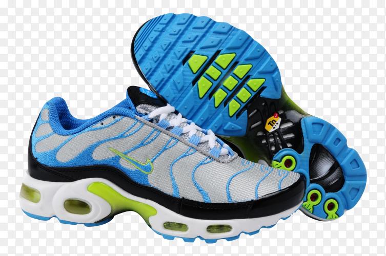 Nike running shoes Premium image PNG