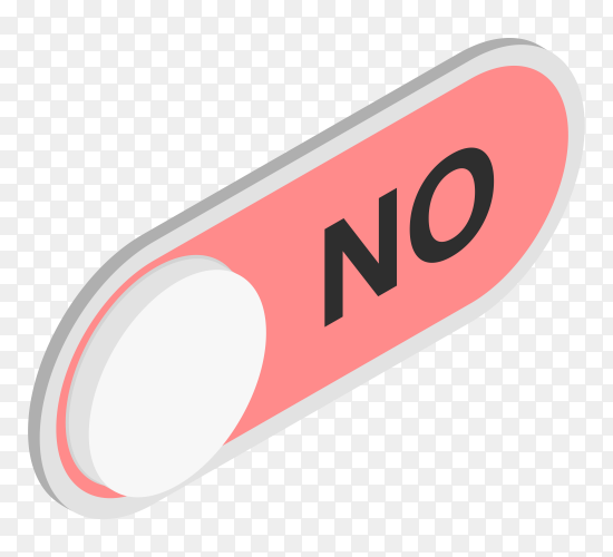No red check mark premium vector PNG