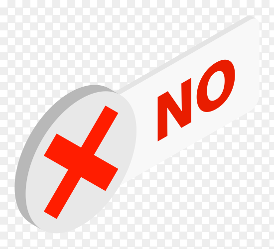 No red checkmark on transparent background PNG