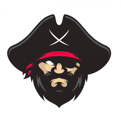 Pirates captain Premium Vector PNG
