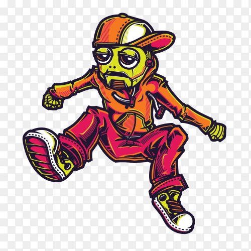 SWG Robo Skate on transparent background PNG