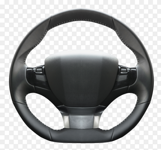 Steering wheels on transparent background PNG