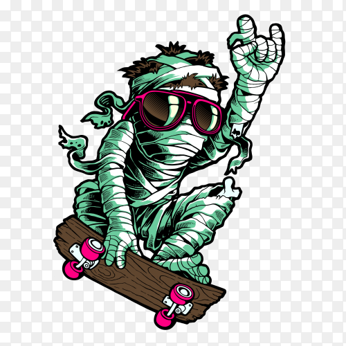 The Return of Mummy on transparent background PNG