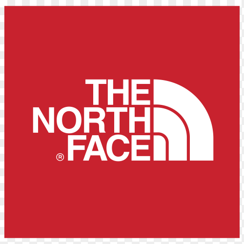 The north face icon on transparent background PNG