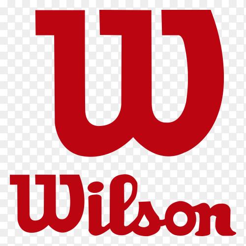 Wilson Logo design Premium vector PNG