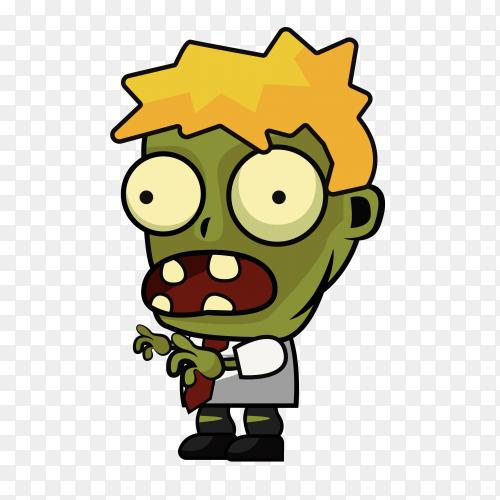 Zombie Game sprites Premium vector PNG