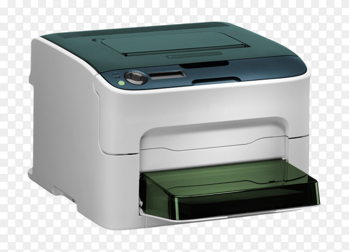 All in one printer scanner on transparent background PNG