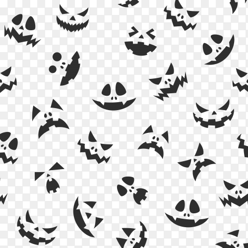 Bats of halloween on transparent background PNG