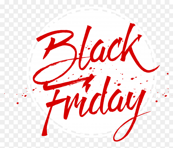 Black friday poster premium vector PNG