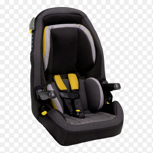 Car baby seat isolated on transparent background PNG