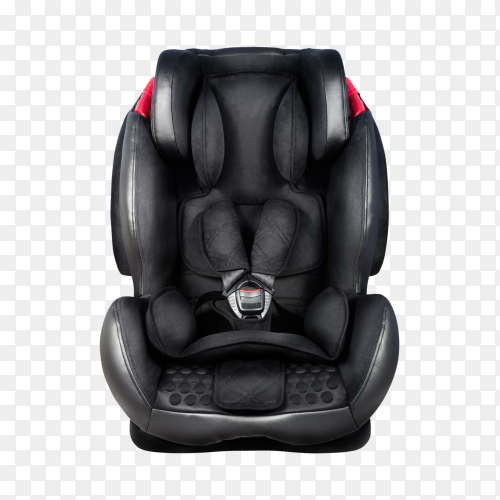 Car baby seat on transparent background PNG