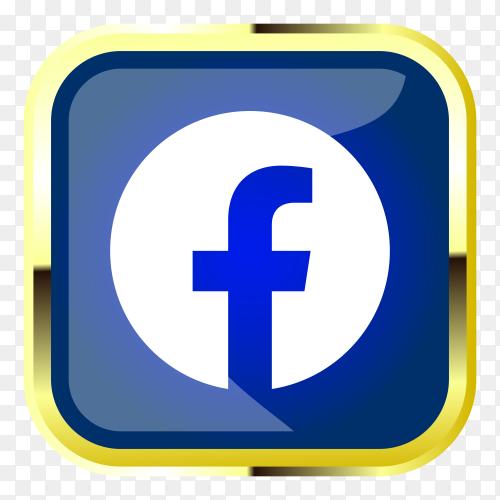 Facebook logo clipart PNG
