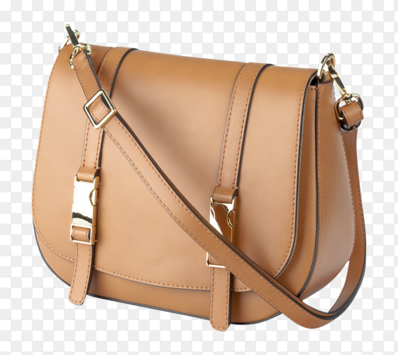 Ladys bag isolated on transparent background PNG