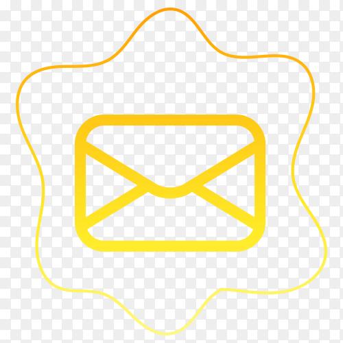Massage icon design on transparent background PNG