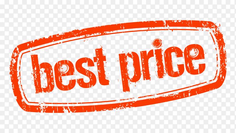 Best price Lettering design on transparent background PNG