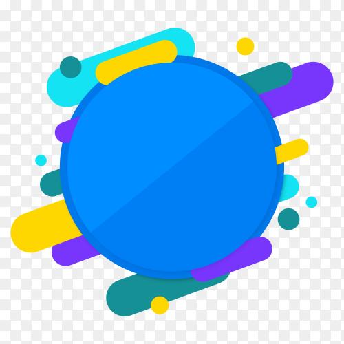Blue banner design premium vector PNG