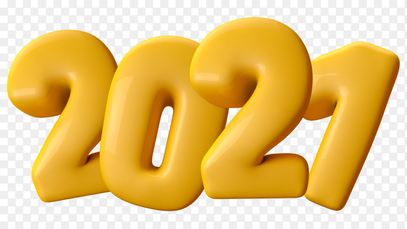 New year 2021 Clipart PNG