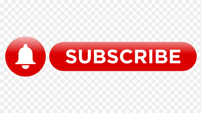 Subscribe icon design on transparent PNG