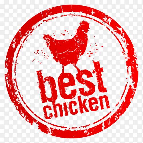 Best chicken logo design premium vector PNG
