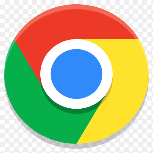 Google chrome icon premium vector PNG