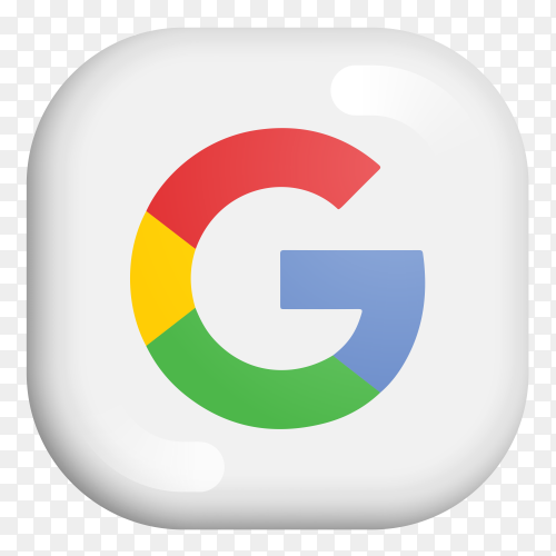 Google modern 3D icon on Premium vector PNG