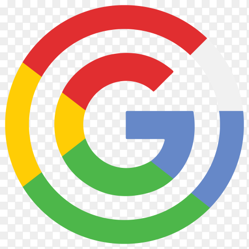 Google modern flat icon premium vector PNG
