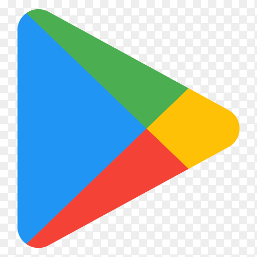 Google play icon illustration premium vector PNG
