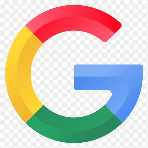 Illustration of Google icon on transparent background PNG