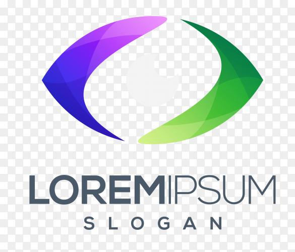 Lorem ipsum logo design on transparent PNG