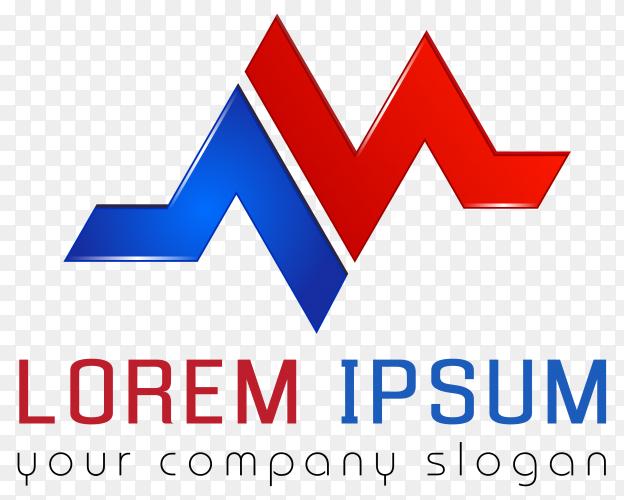 Lorem ipsum logo design premium vector PNG