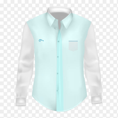 Shirt isolated on transparent background PNG