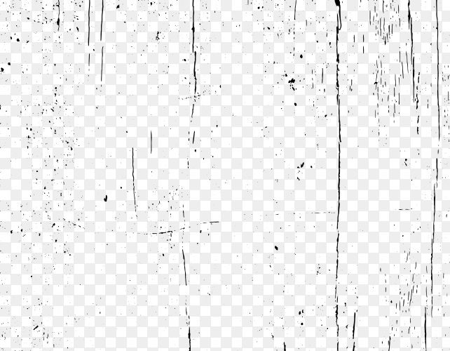 Abstract grunge texture design on transparent background PNG
