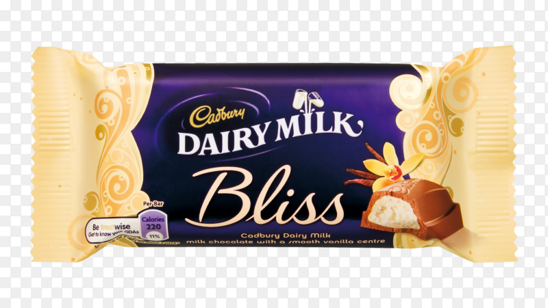 Cadbury Dairy milk chocolate product on transparent background PNG
