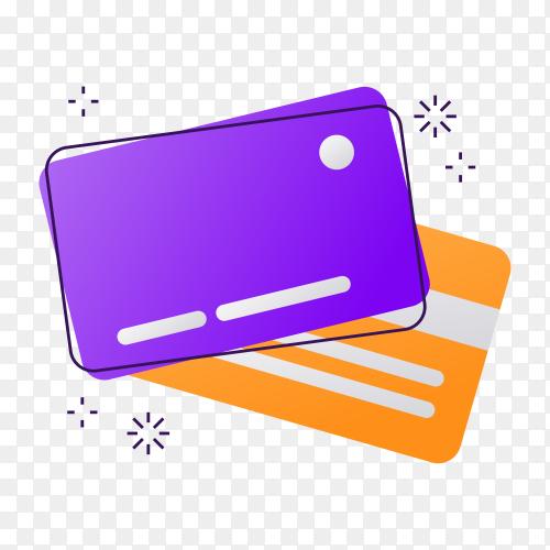 Cashback label on transparent background PNG