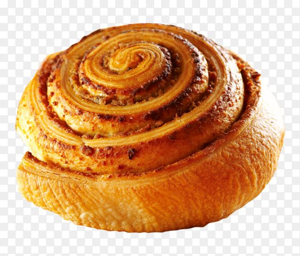 Delicious cinnamon rolls on transparent background PNG