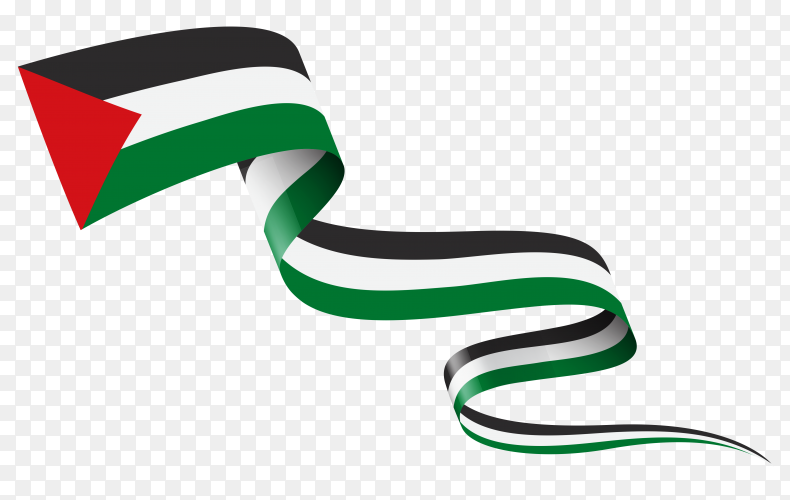 Flag of Palestine template Clipart PNG