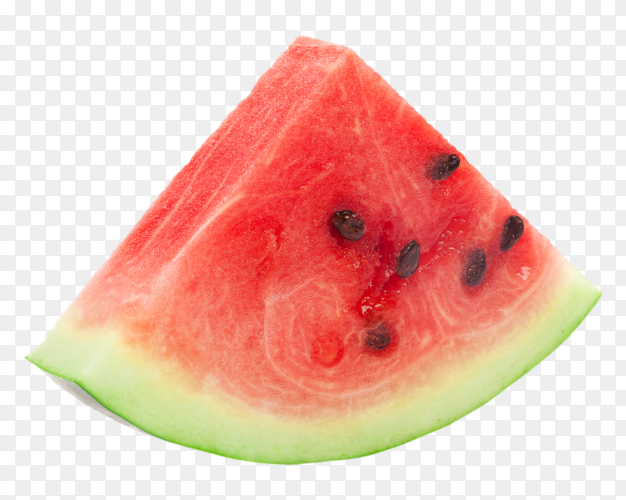 Fresh watermelon on transparent background PNG