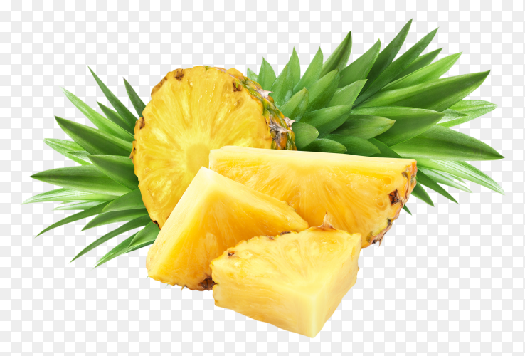 Pineapple isolated premium image PNG