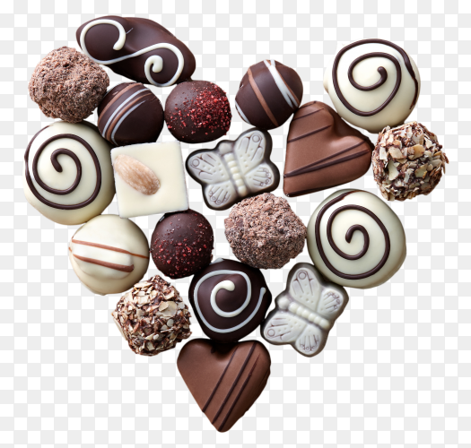 Sweets Candy Chocolate on transparent background PNG